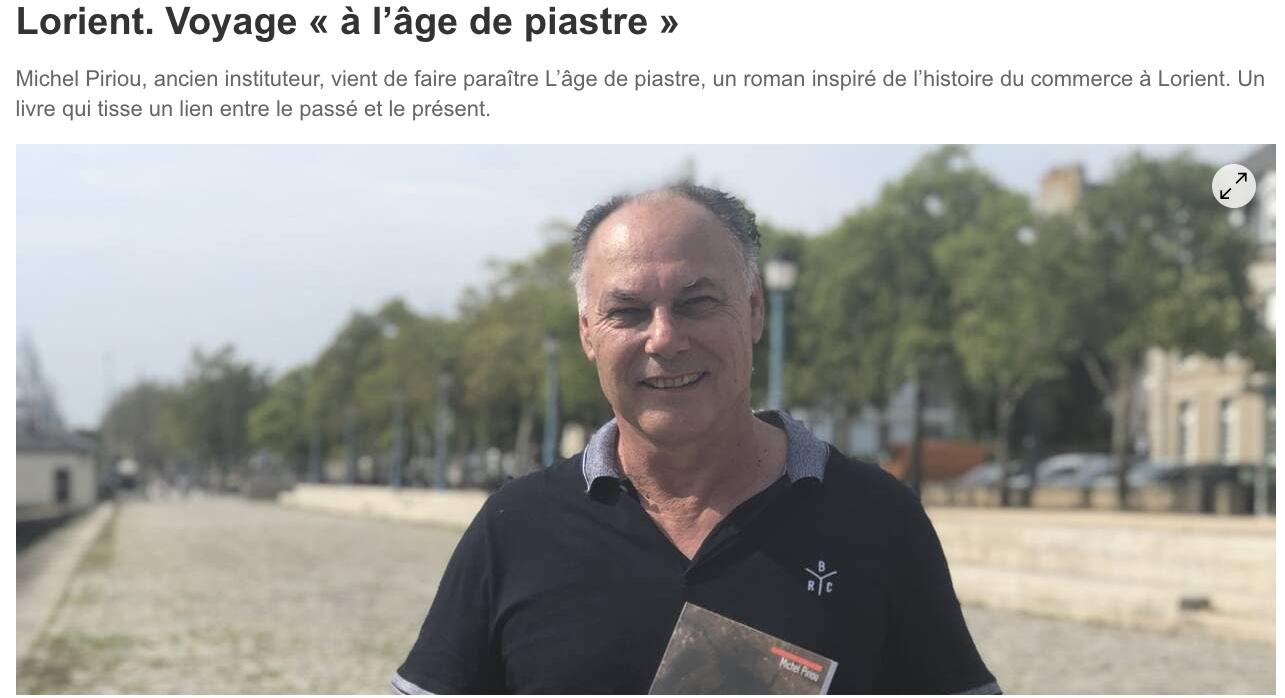 Michel Piriou dans Ouest France