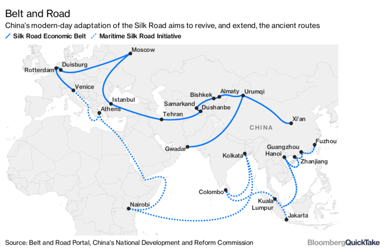 China's New Silk Road - La Route de la Soie - Editions