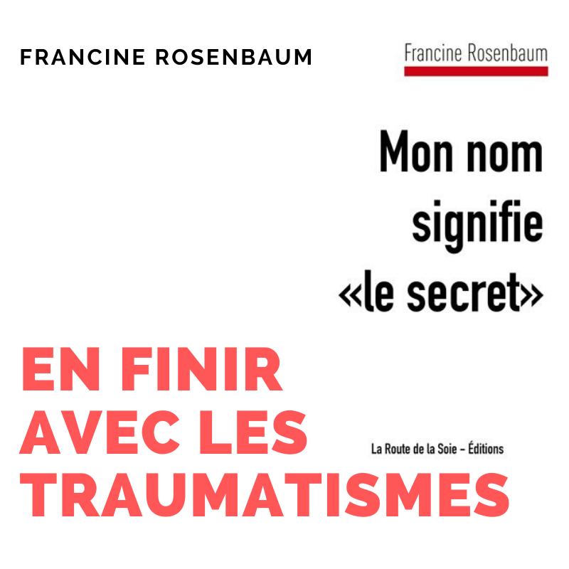Parution du livre de Francine Rosenbaum