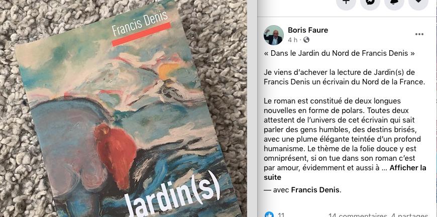 Francis Denis par Boris Faure