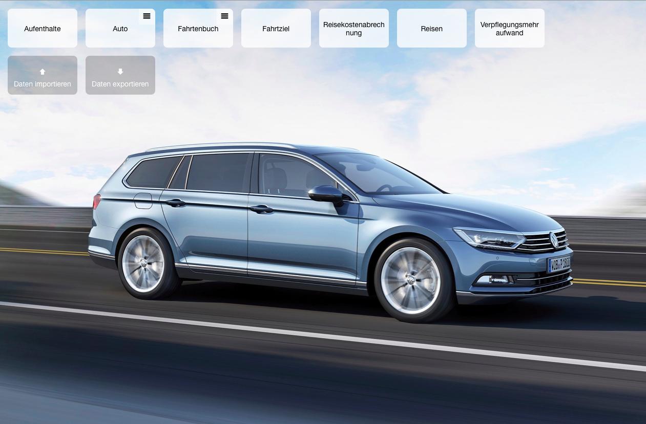myCar: Unterhaltskosten für Fahrzeuge inklusive Fahrtenbuch und Abrechnung.