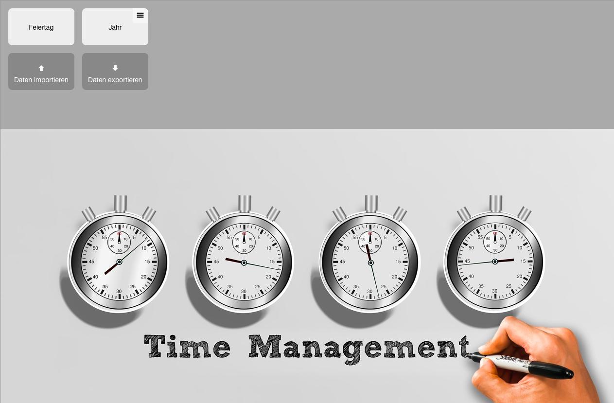 myWorkday: Arbeitszeiten erfassen und Arbeitsfelder auswerten.