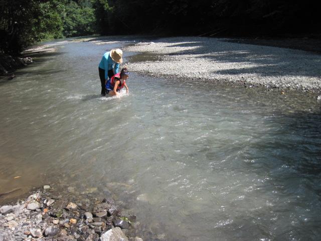川遊び満喫