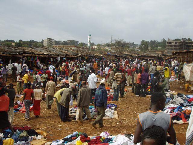 äthiopischer Markt