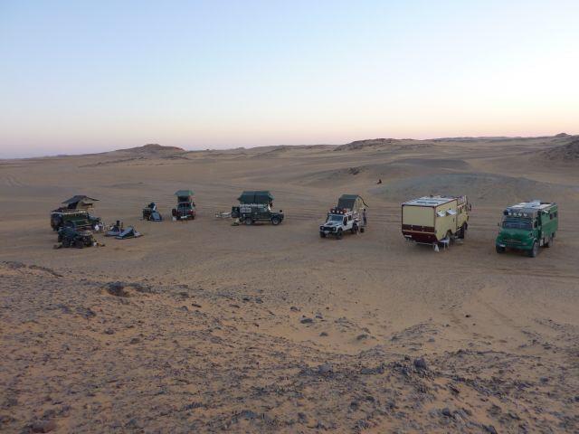 1. Nacht auf sudanesischem Boden