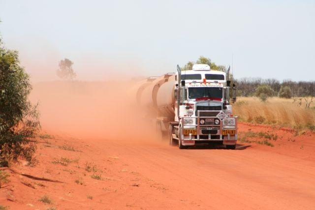 Outback Gegenverkehr