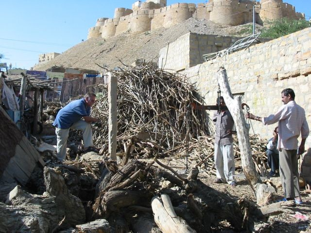 Brennholzeinkauf