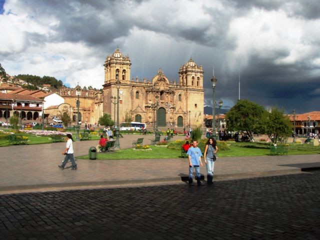 Plaza de Armas in Cuenca