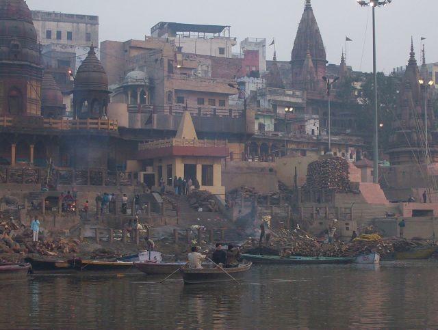 Verbrennungsghats Varanasi