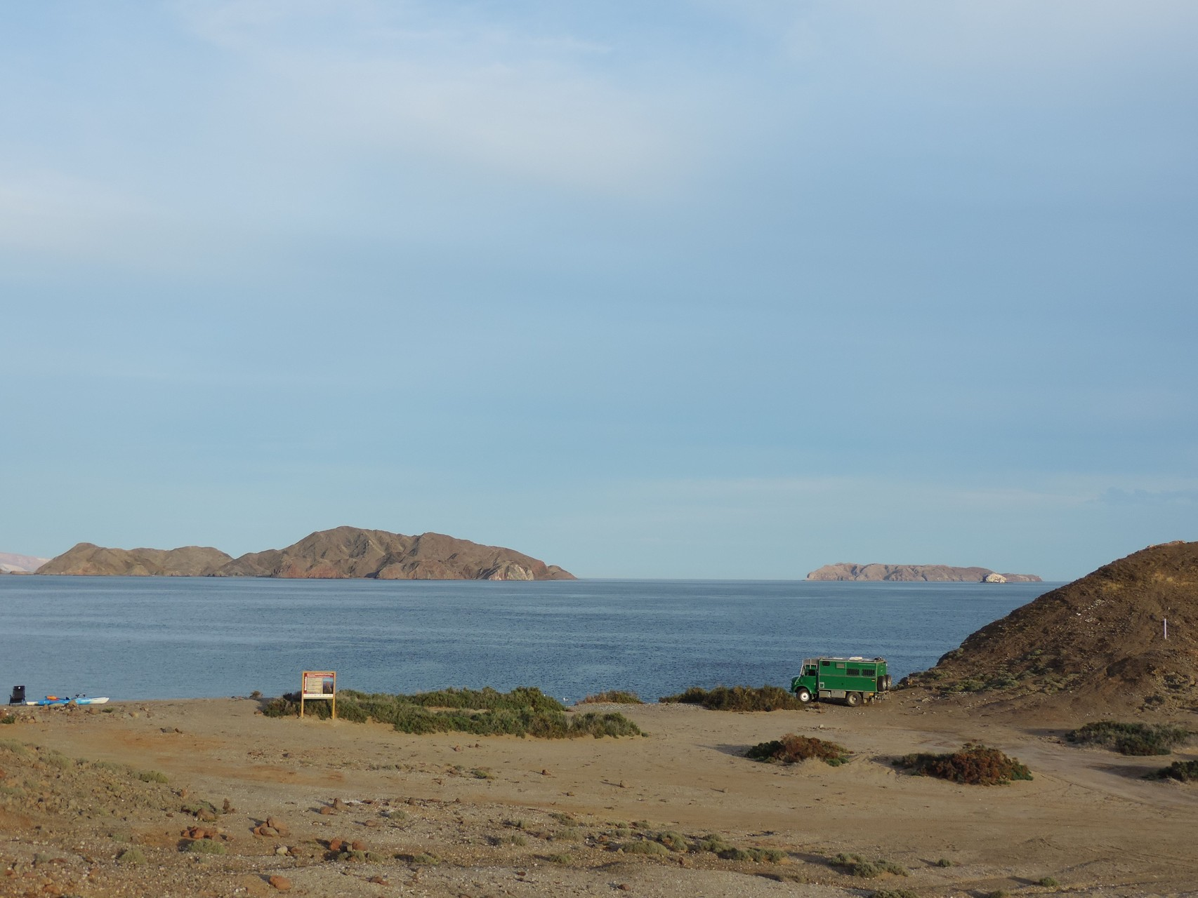 Playa Gringa in Bahia de Los Angeles
