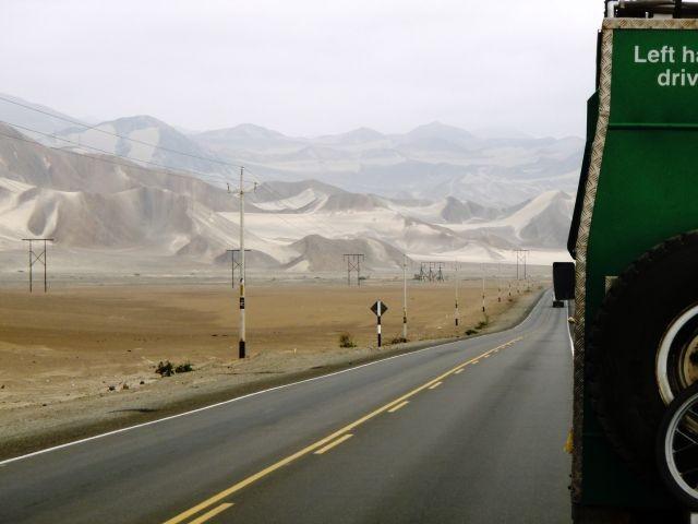 unterwegs nach Nazca