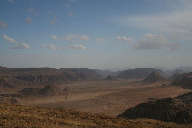 Sonnenuntergang über derWüste