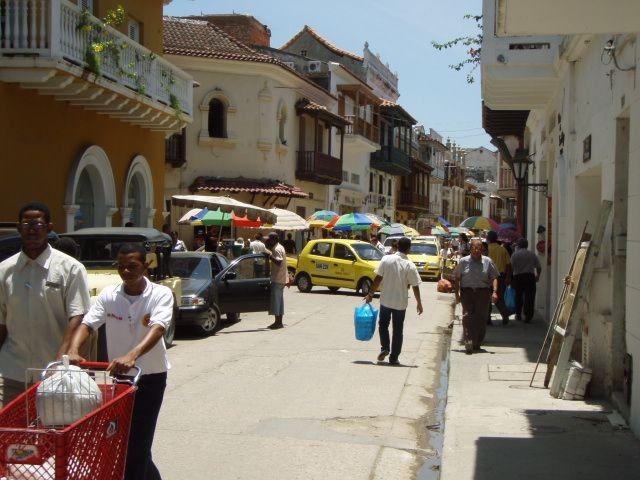 Cartagenas geschäftiges Treiben