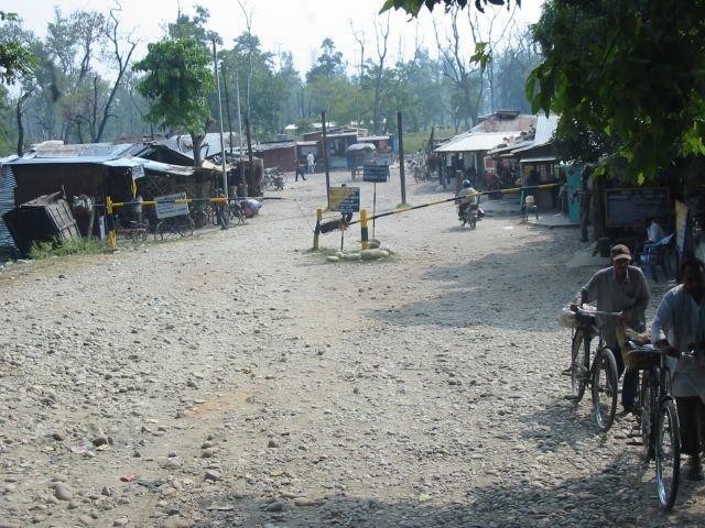 Grenzübergang Indien - Nepal