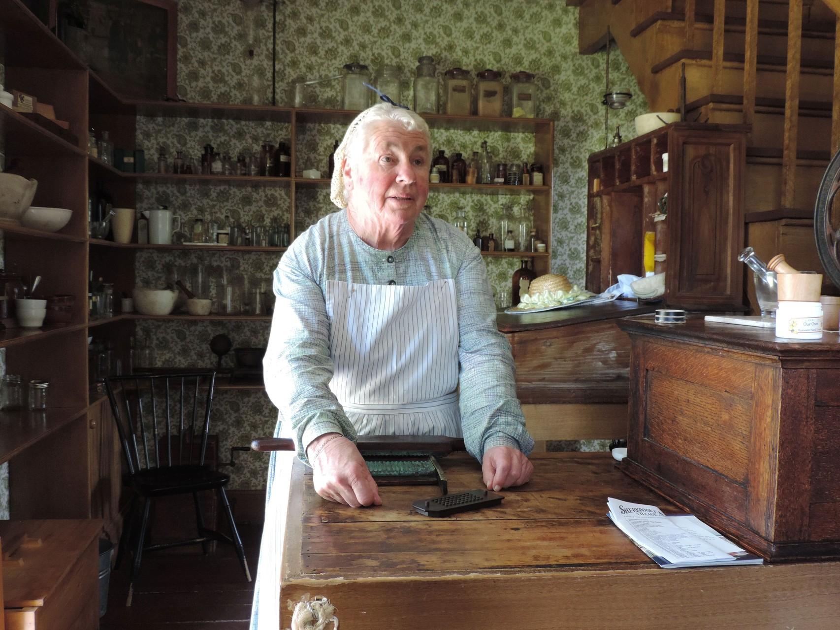 Apothekerin im Sherbrooke Village