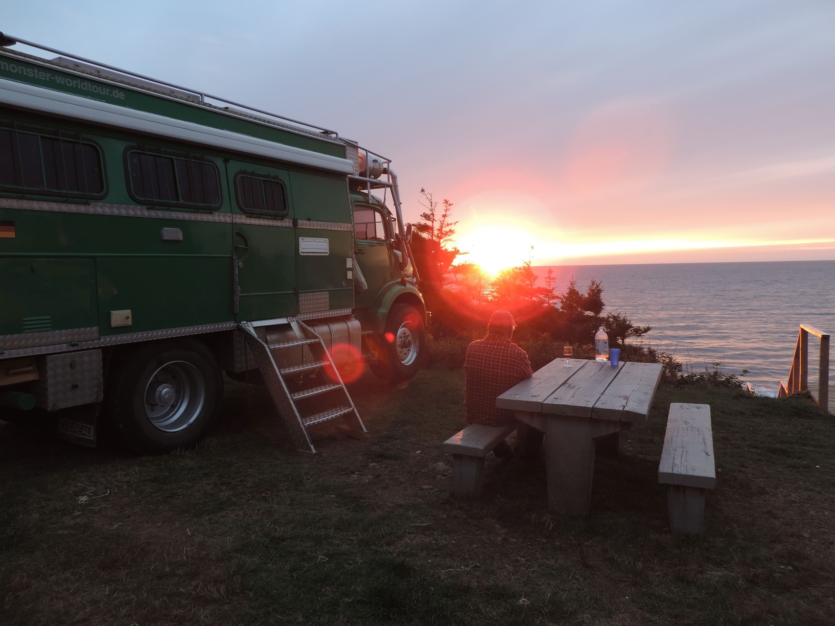 Sonnenuntergang Cape Breton