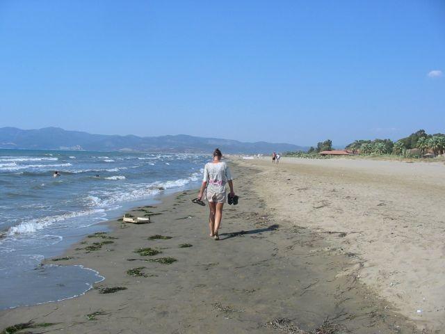 am Strand bei Pamucak