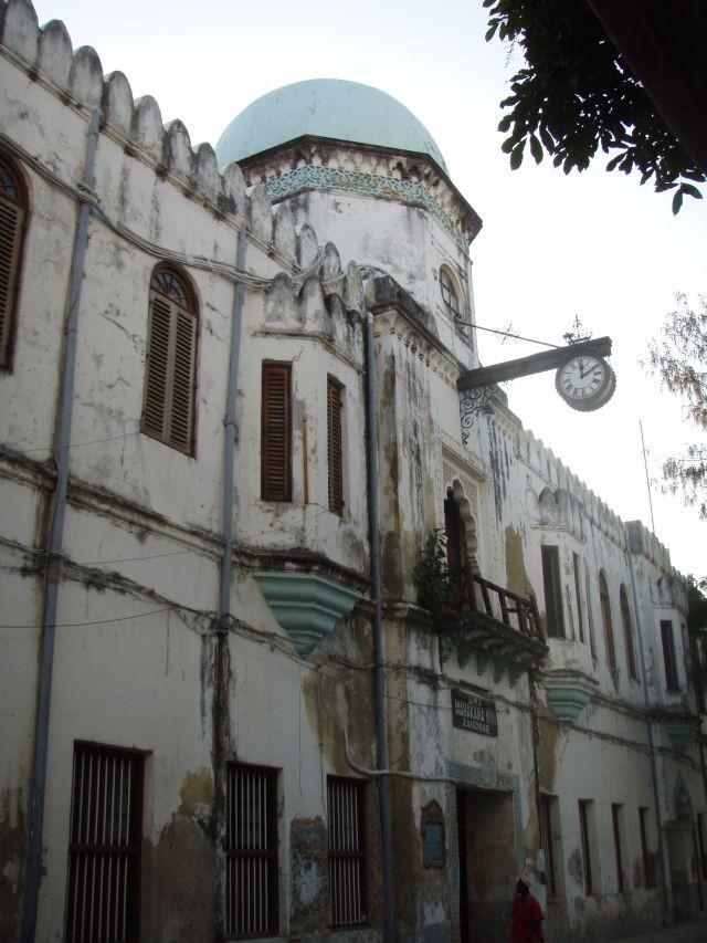 Gerichtsgebäude auf Sansibar