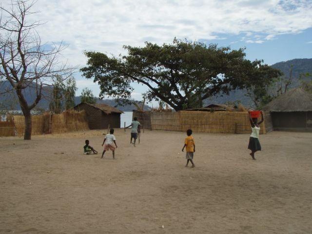 Fussball wird überall gespielt