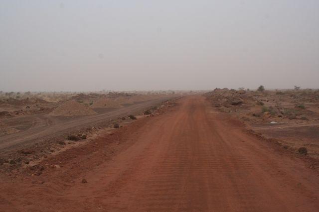 Trasse bei Tidjikja