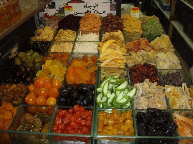 kandierte Früchte