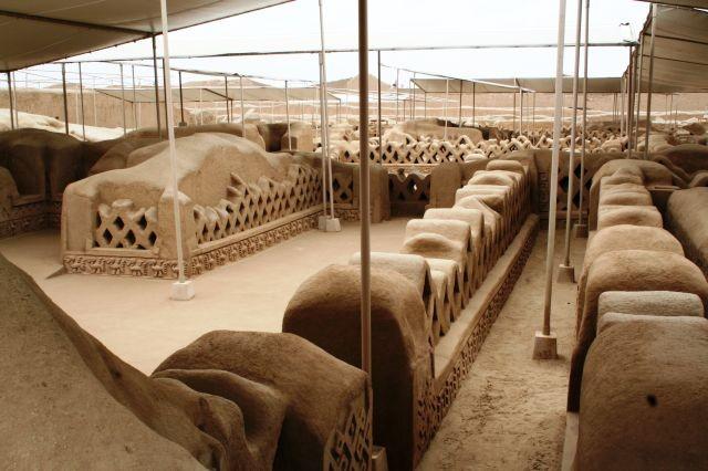 Ausgrabungen von Chan Chan