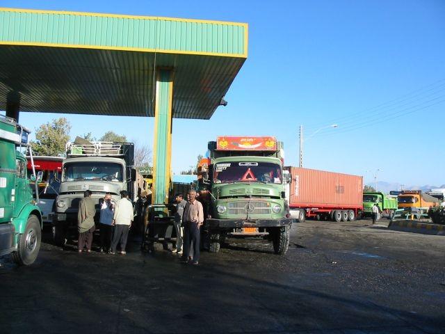 rare Dieseltankstelle