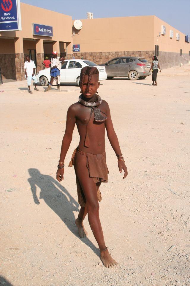 Menschen in Opuwo