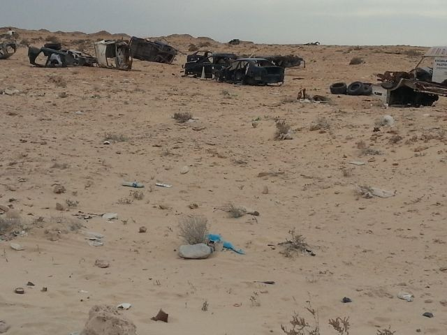 Niemandsland zwischen Marokko und Mauretanien