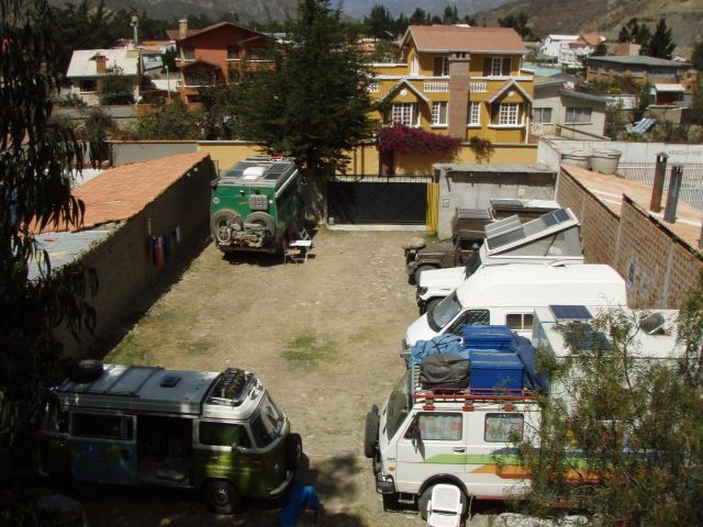 Traveller-Treff in La Paz