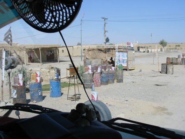 geschmuggelter iranischer Diesel