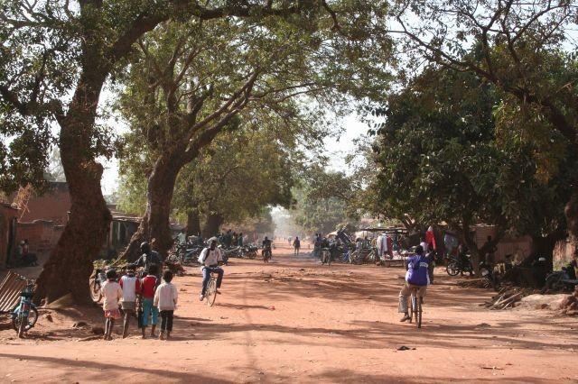 Straßenbild in Bobo