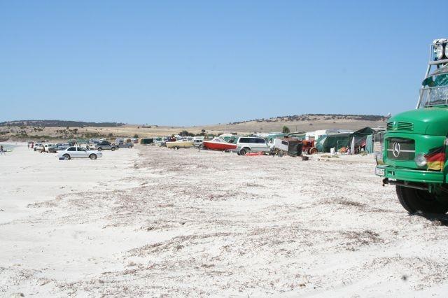 Strandbevölkerung