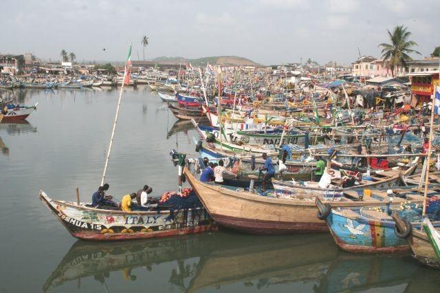 Hafen von Elmina