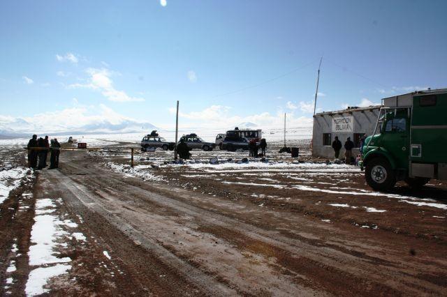 Grenzübergang Bolivien