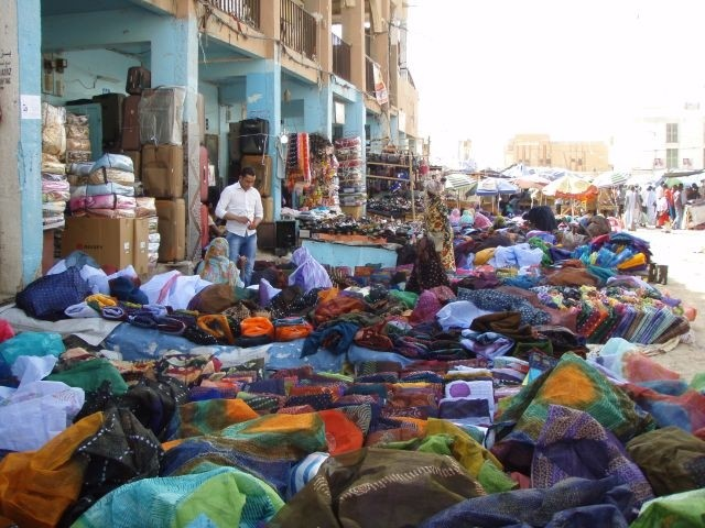 auf dem Markt von Nouakchott