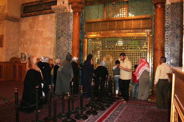 in der Omaijaden Moschee