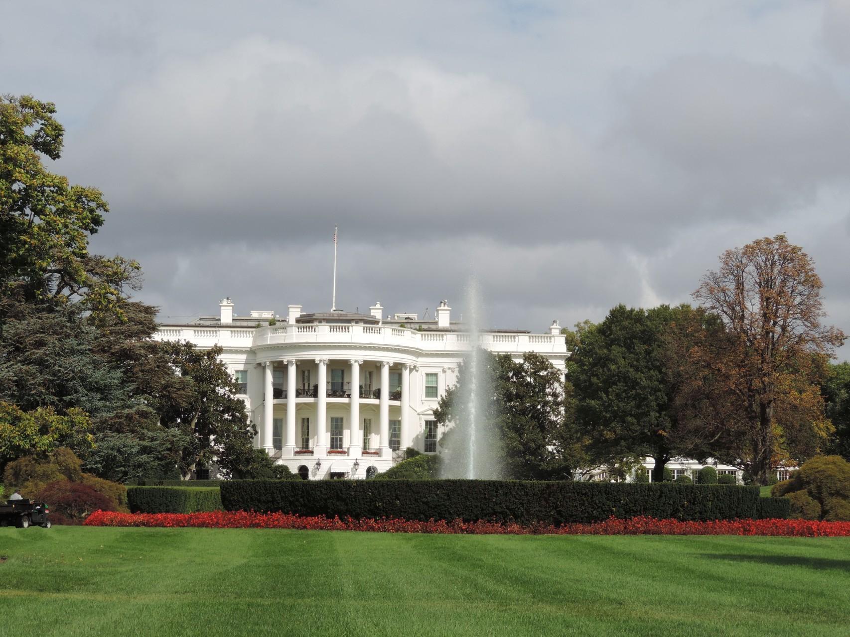 Obama ist nicht zuhause