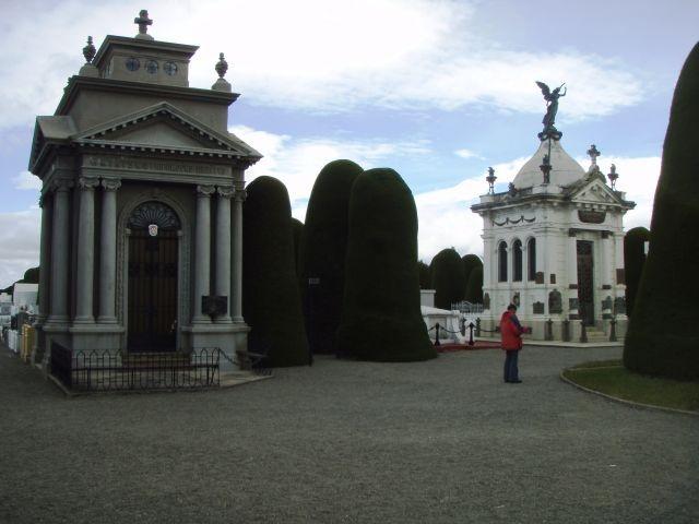Grabmal in Punta Arenas