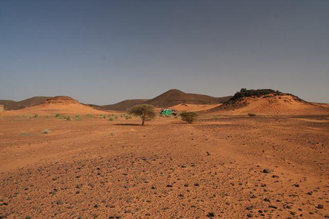 Wüstenübernachtung