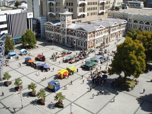 Christchurch von oben