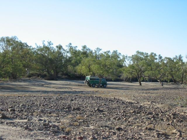 Innamincka, the middle of nowhere