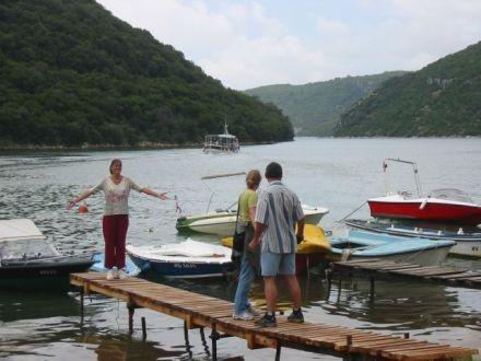 der Limskifjord in Istrien