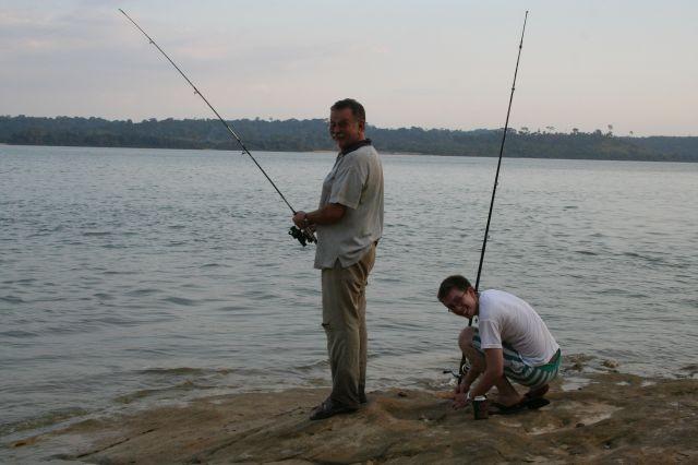 Fisherman in Aktion