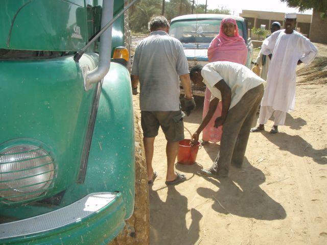 Benzinlieferung