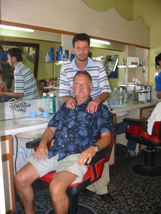 Friseurbesuch nachher