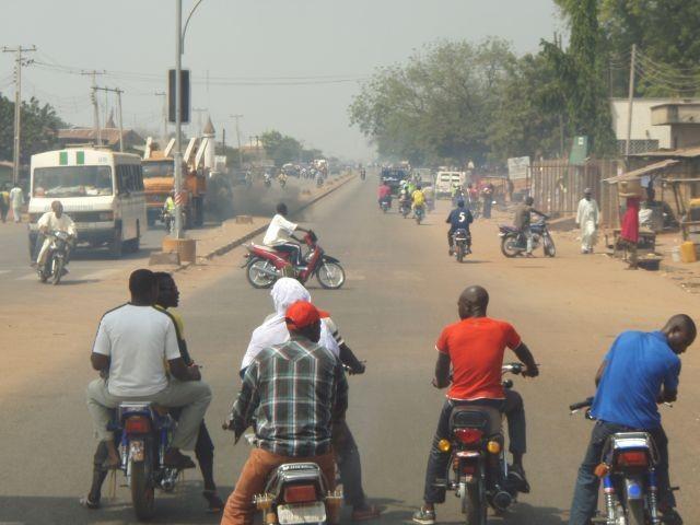 im Straßenverkehr