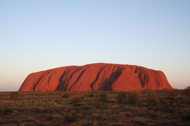 der rote Felsen