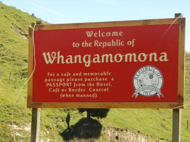 Einreise in die Republik Whangamomona