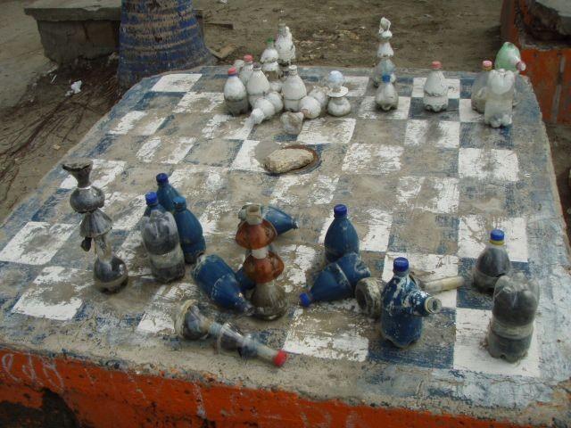Schachspiel Columbia
